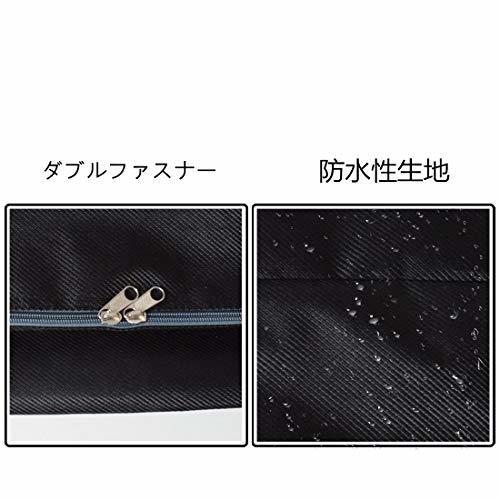 Fisstina布団収納袋ケース大容量100L 超大型バッグ整理 片づけ 引っ越しバッグ 特大サイズ 防湿 可愛い柄 収納ケース_画像3