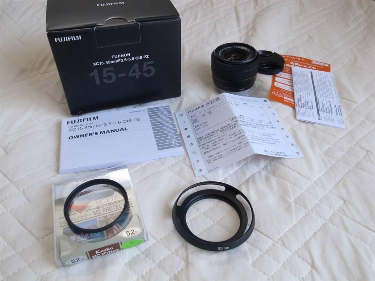 フジノンレンズ XC15-45mm F3.5-5.6 OIS PZ 超美品