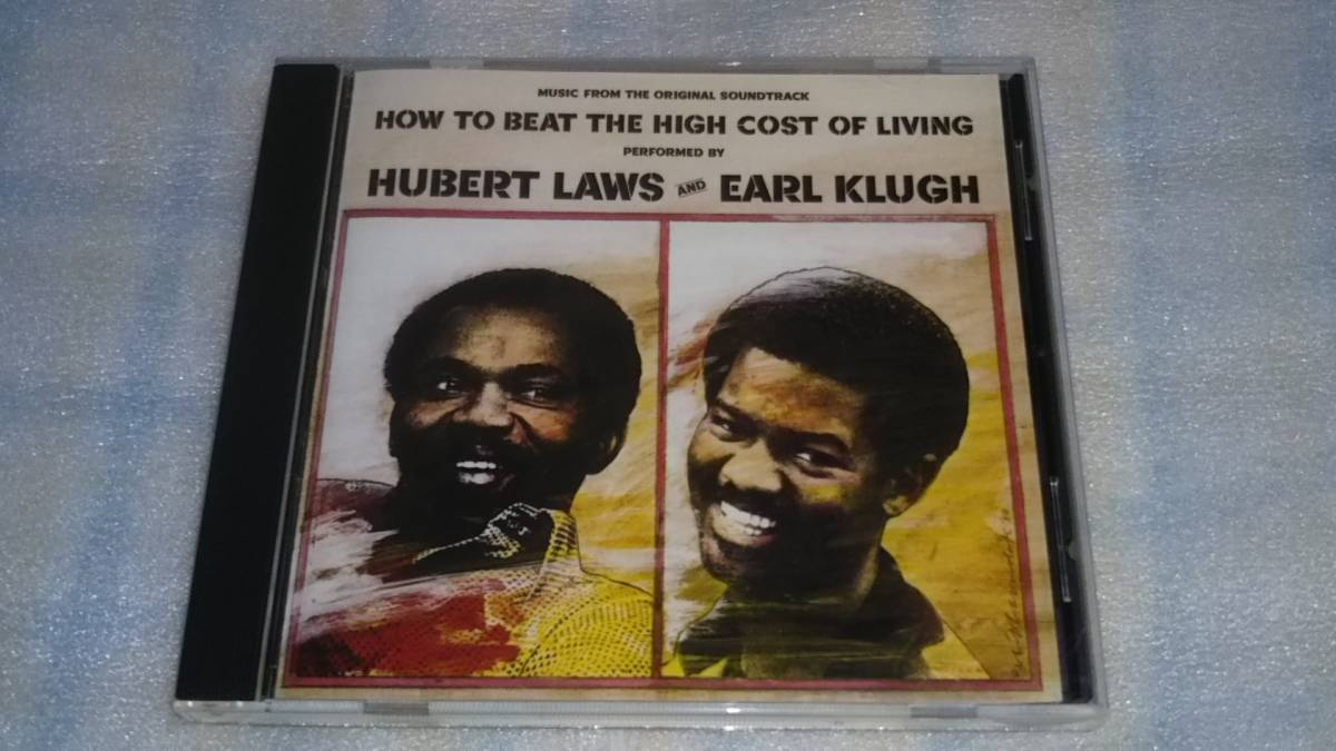 HUBERT LAWS & EARL KLUGH/HOW TO BEAT THE HIGH COST OF LIVING 輸入盤CD 80s US JAZZ FUNK FUSION WOUNDED BIRD_画像1