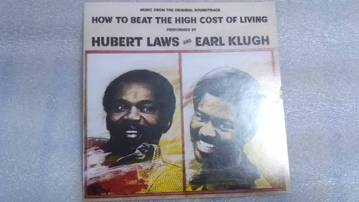 HUBERT LAWS & EARL KLUGH/HOW TO BEAT THE HIGH COST OF LIVING 輸入盤CD 80s US JAZZ FUNK FUSION WOUNDED BIRD_画像4
