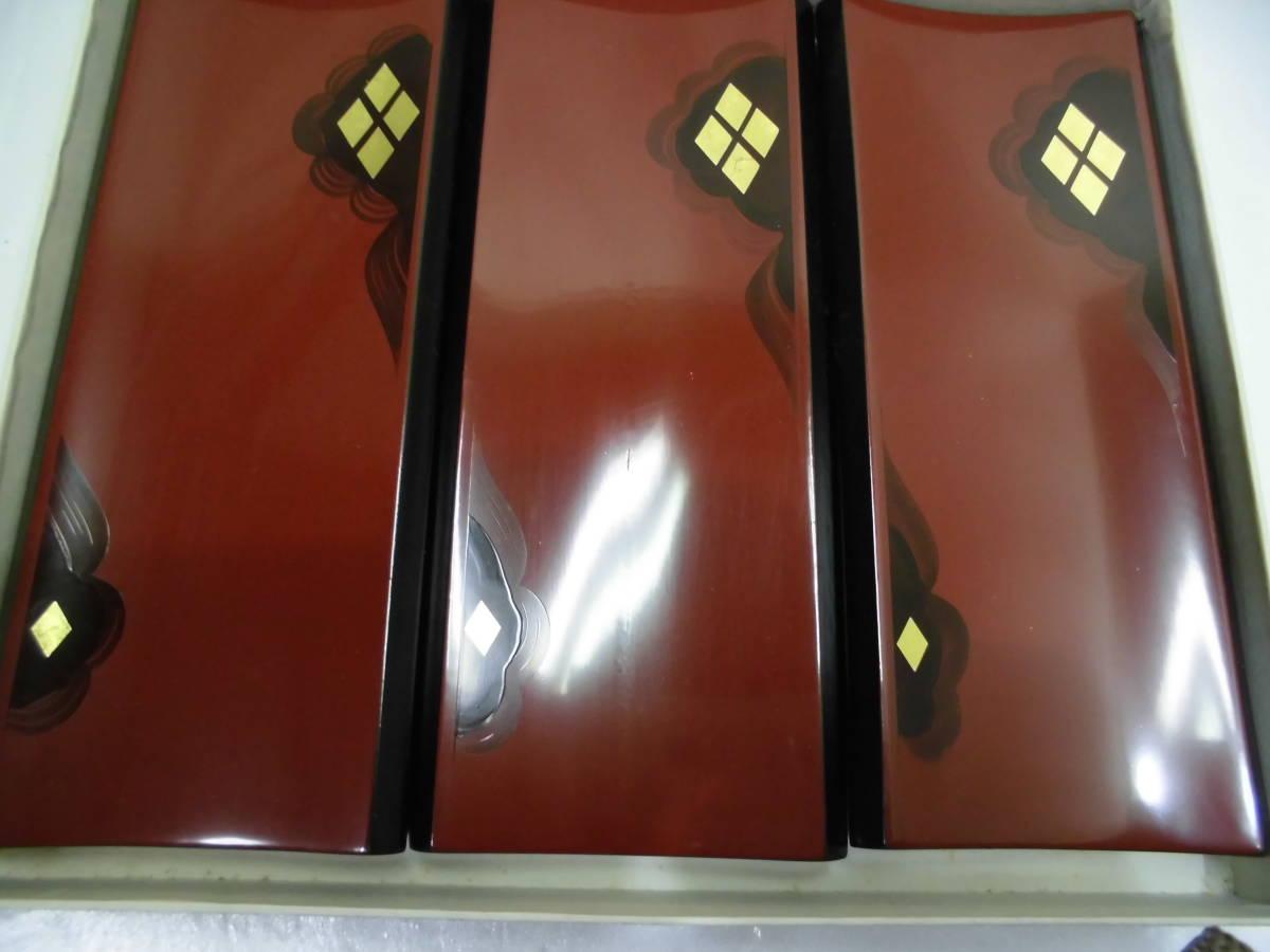 秀衡塗 丸三漆器 SEVEN CORPORATION ネコの置物 竹細工 箸 こけし 5点 まとめセット_画像2