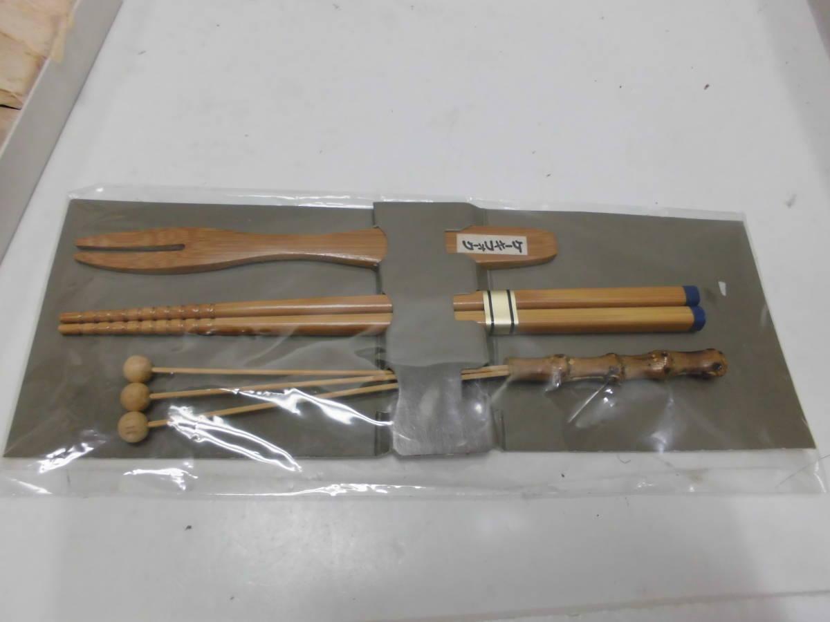 秀衡塗 丸三漆器 SEVEN CORPORATION ネコの置物 竹細工 箸 こけし 5点 まとめセット_画像4