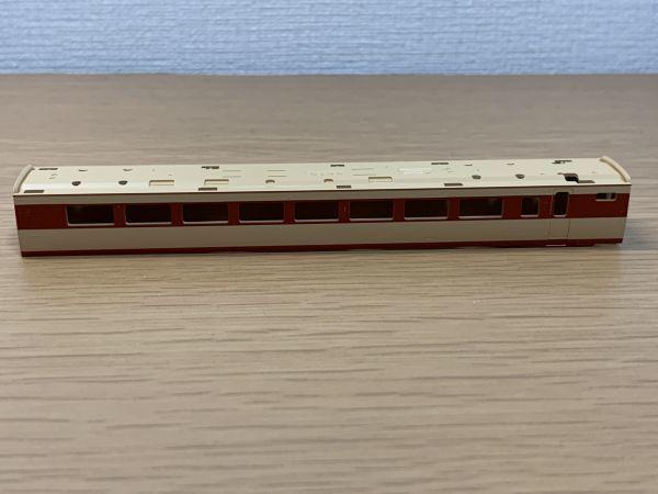 92333 TOMIX JR 485系特急電車(雷鳥・クロ481-2000)基本A バラシ モハ484-0 ボディ(ガラスなし)8319 現状品 鉄道模型 Nゲージ_画像2