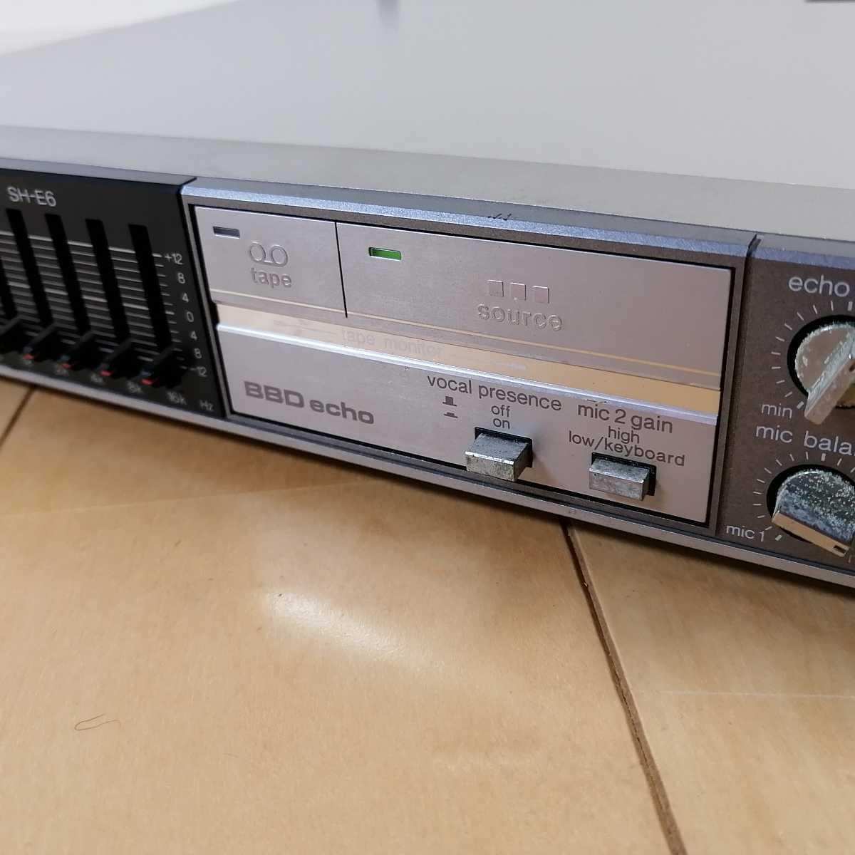 美品!! Technics テクニクス ステレオグラフィックイコライザー SH-E6 通電確認済!!_画像10