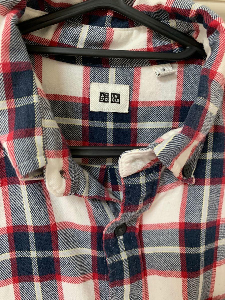 ユニクロ  チェックシャツ  ネルシャツ  長袖シャツ メンズ  チェック