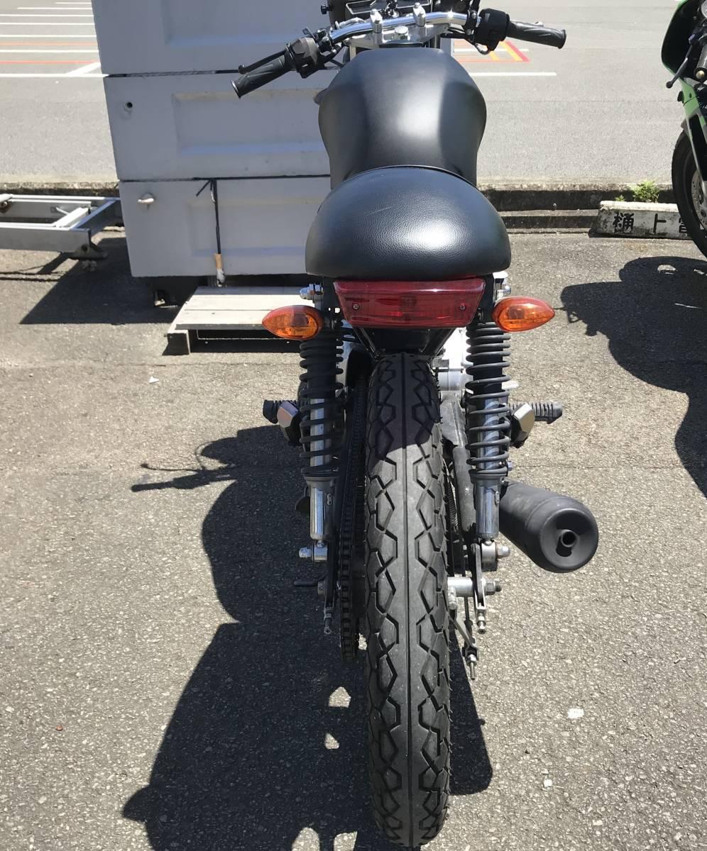 「YBR125 スクランブラー カスタム!」の画像3