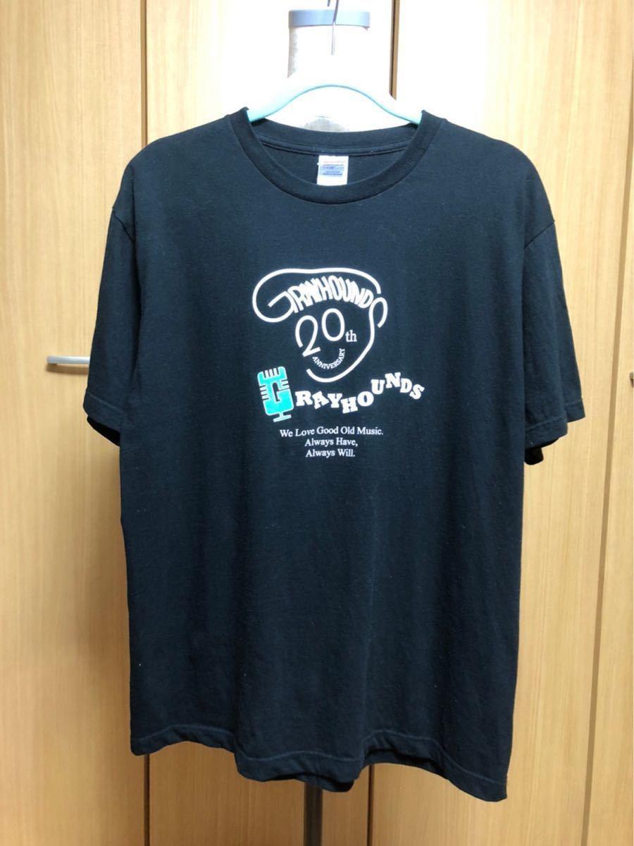 【出品限り】グレイハウンズのオリジナルTシャツ(20周年くん)