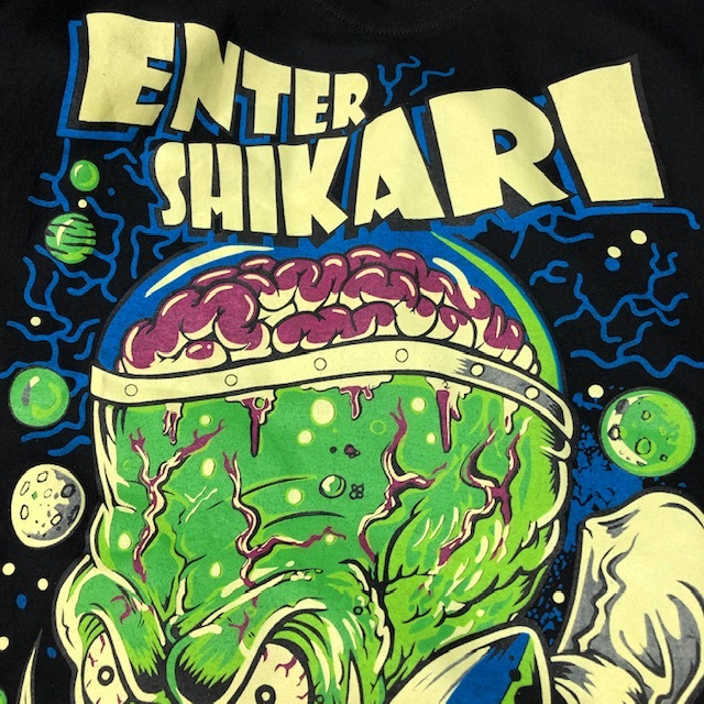 バンドT・ロックT ENTER SHIKARI Tシャツ M エンターシカリ ポスト・ハードコア エレクトロニコア ヘヴィメタル ●29