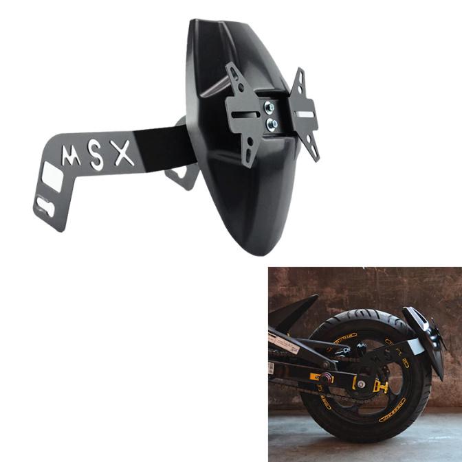 N1629 ホンダ GROM/MSX125/M3 オートバイリアマッドガード ホイールタイヤ スプラッシュカバーガード ナンバープレート_画像1