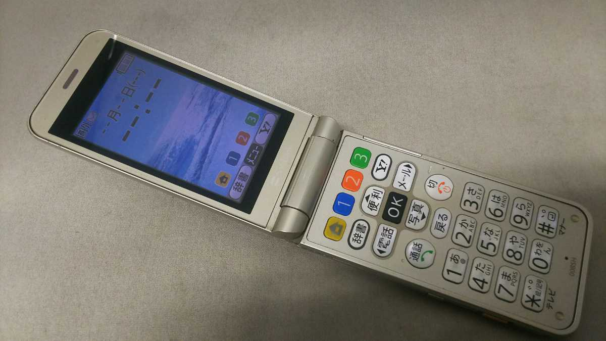 SoftBank かんたん携帯 008SH #27 SHARP ガラケー ケータイ 簡易動作確認&簡易清掃&初期化OK 判定○ 送料無料 _画像2