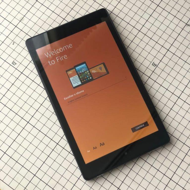 Fire HD 8 タブレット (8インチHDディスプレイ) (第7世代) 16GB カバー、キーボードのおまけ付き良品_画像1
