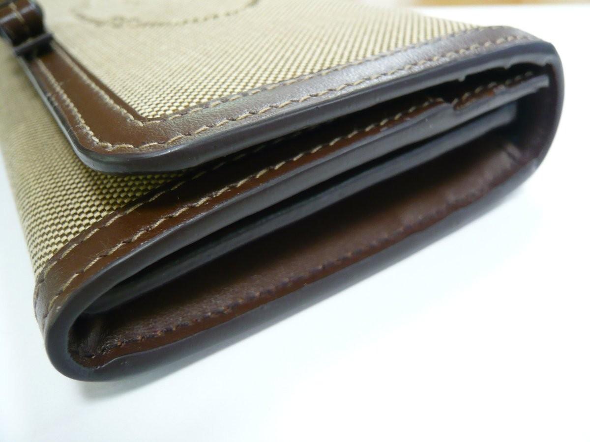 質屋出品【PRADA】長財布 カードケース付き ロゴ ジャガード LOGO JACQUARD アウトレット品_画像4