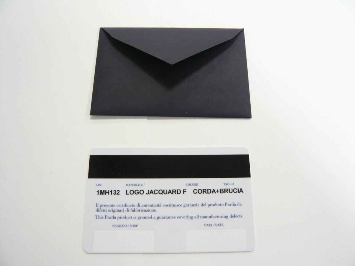 質屋出品【PRADA】長財布 カードケース付き ロゴ ジャガード LOGO JACQUARD アウトレット品_画像10