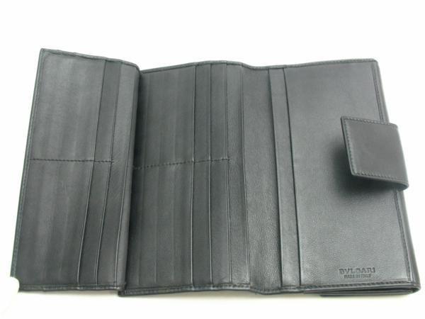 中古【BVLGARI】三つ折り長財布 Wホック コローレ_画像5