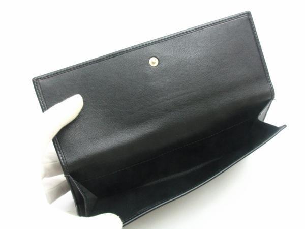 中古【BVLGARI】三つ折り長財布 Wホック コローレ_画像3