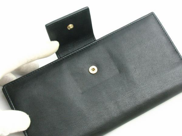中古【BVLGARI】三つ折り長財布 Wホック コローレ_画像6