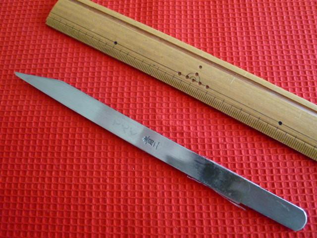 ★即決新品■左用切出ナイフ12ミリ■安来青鋼★