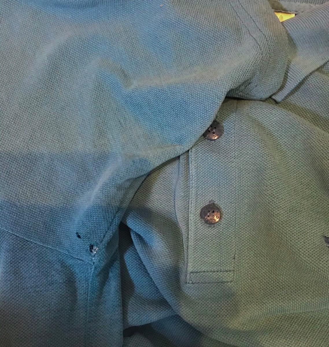 adidas アディダス ポロシャツ 半袖 ターコイズブルー 青 水色 メンズ