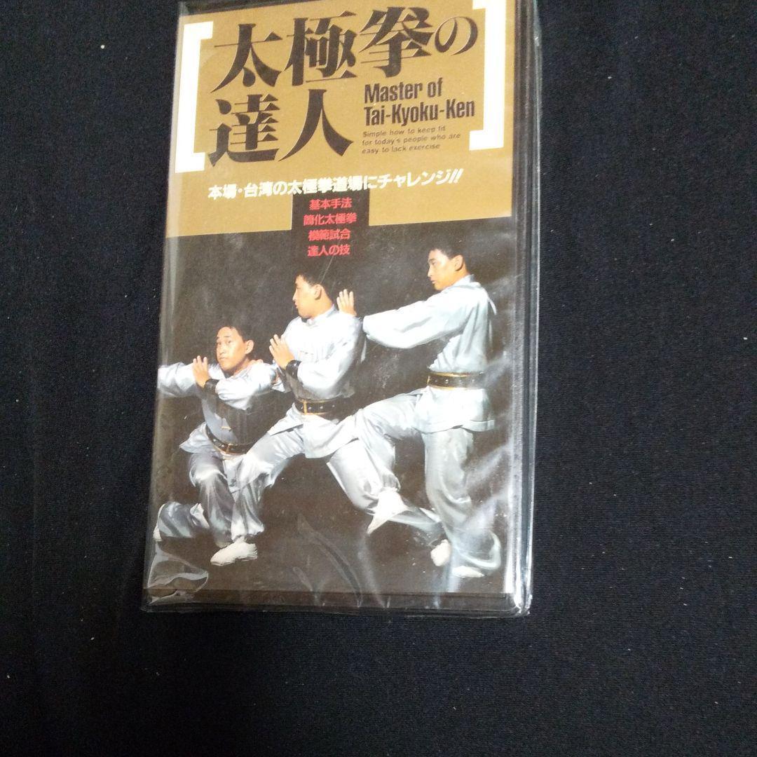 激レア VHS『太極拳の達人』_画像1