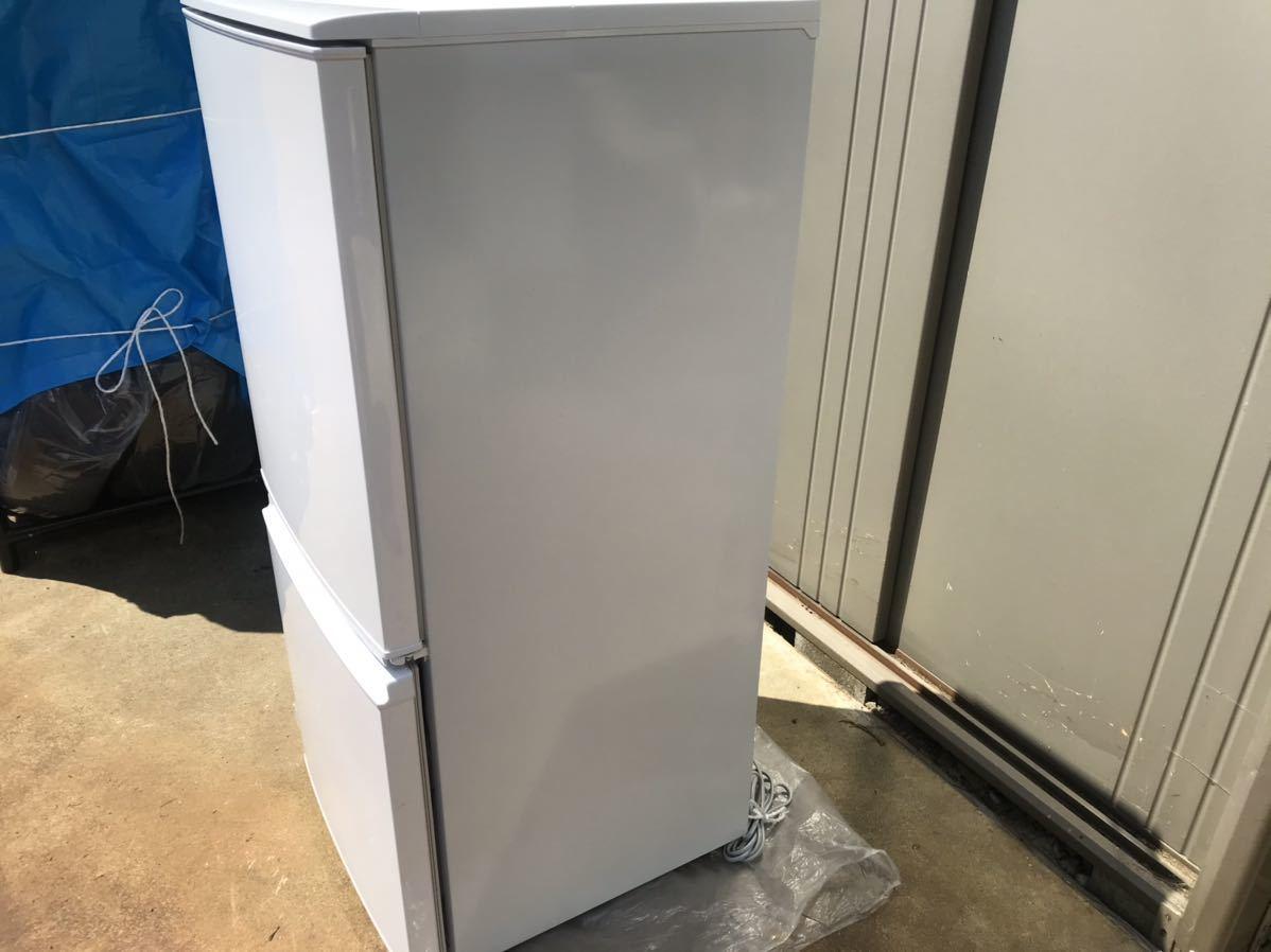 【USED】【期間限定値下げ】SHARP シャープ SJ-D14A-W 冷蔵庫 137L 一人暮らし 単身用 丁度良い! 2ドア冷蔵庫_画像2