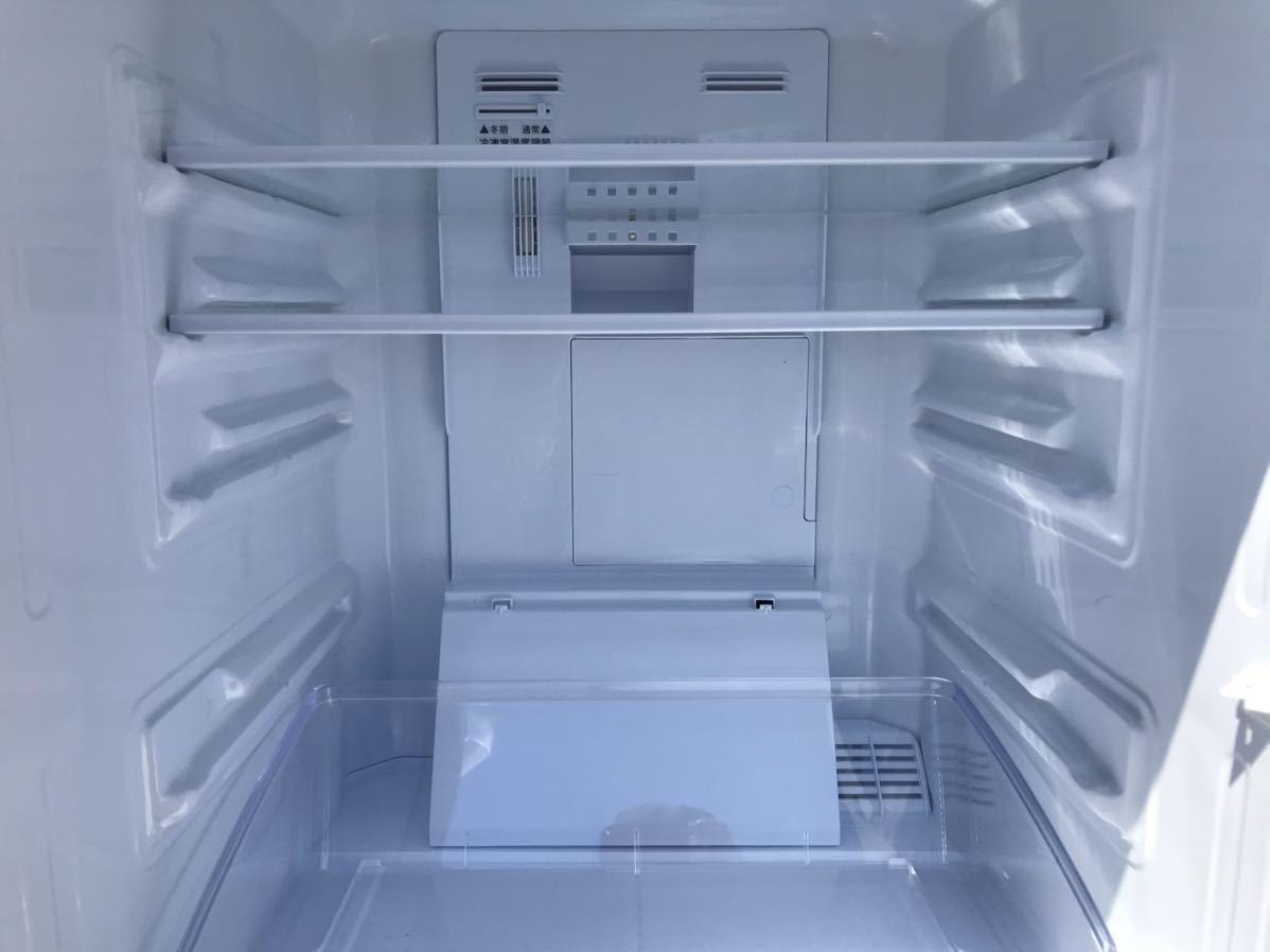 【USED】【期間限定値下げ】SHARP シャープ SJ-D14A-W 冷蔵庫 137L 一人暮らし 単身用 丁度良い! 2ドア冷蔵庫_画像8