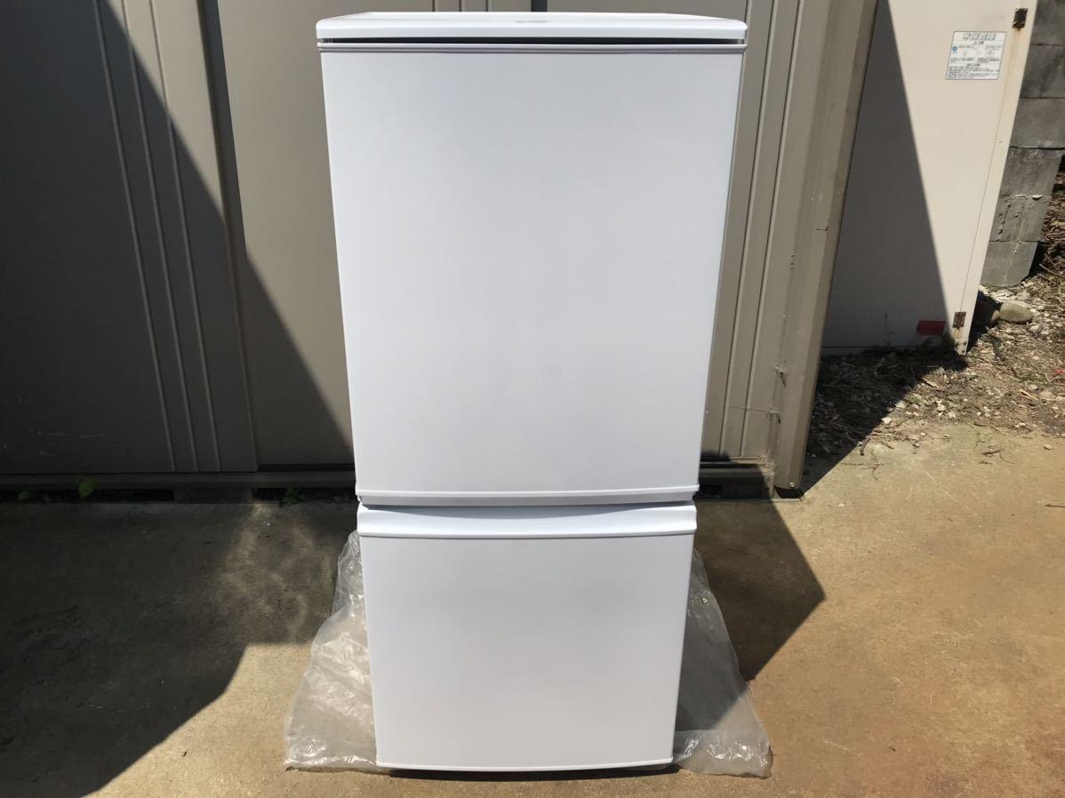 【USED】【期間限定値下げ】SHARP シャープ SJ-D14A-W 冷蔵庫 137L 一人暮らし 単身用 丁度良い! 2ドア冷蔵庫_画像1