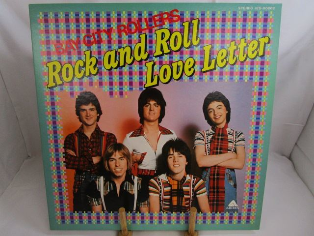 [200529045] BAY CITY ROOLLERS Rock and Roll Love Letter サタデー・ナイト LP レコード IES-80602 東芝EMI株式会社 【中古】_画像6