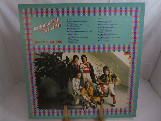 [200529045] BAY CITY ROOLLERS Rock and Roll Love Letter サタデー・ナイト LP レコード IES-80602 東芝EMI株式会社 【中古】_画像7