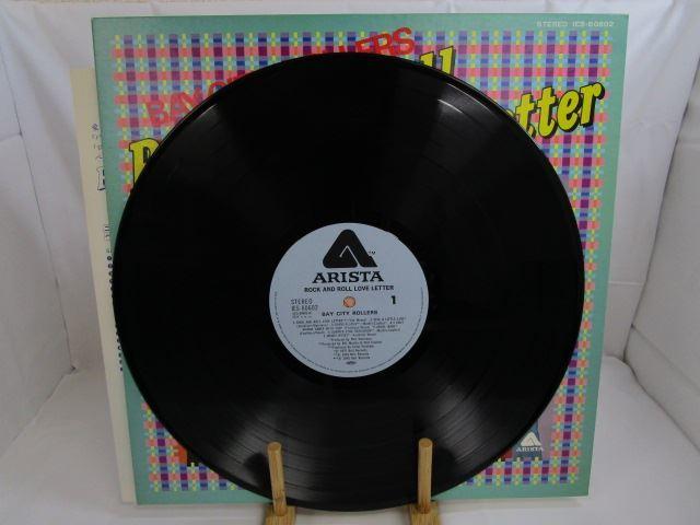 [200529045] BAY CITY ROOLLERS Rock and Roll Love Letter サタデー・ナイト LP レコード IES-80602 東芝EMI株式会社 【中古】_画像1