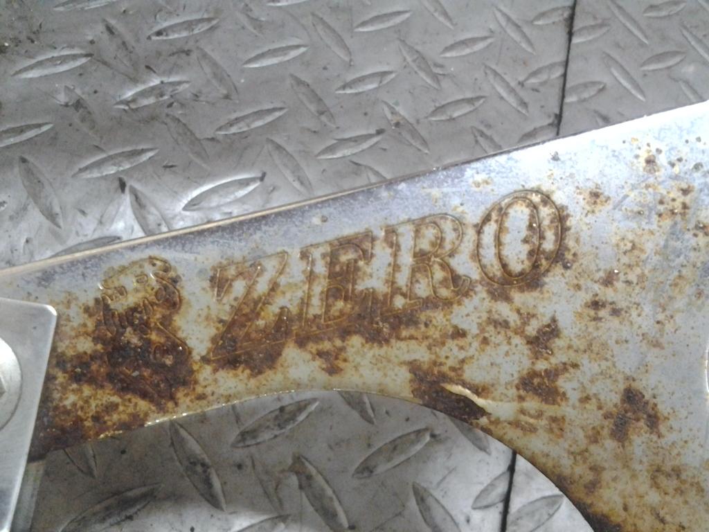 ホンダ Dio Z4 AF63 実働外し 社外 ZERO 零 マフラー チャンバー 検索 I-29 エキパイ サイレンサー HONDA ディオ AF54 AF55 AF56 AF57 AF58_画像6