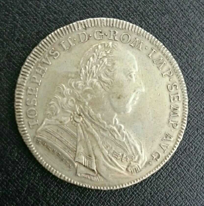 ドイツ レーゲンスブルク 1775年 大型ターラー銀貨 ヨーゼフ2世 最落無し!