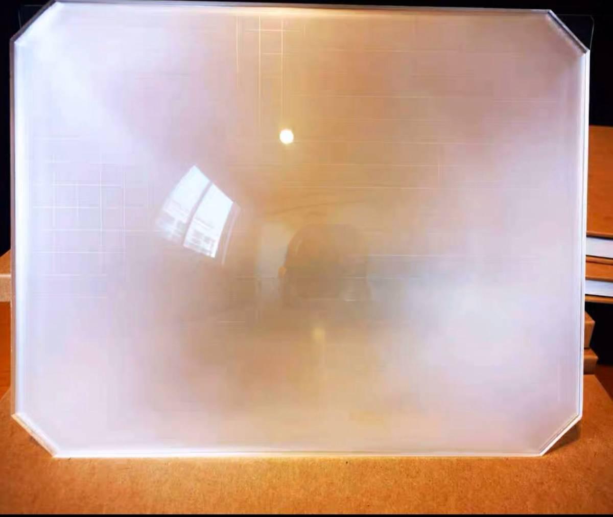 新品 8X10大判カメラ用スクリーン 明かりを増す_画像1
