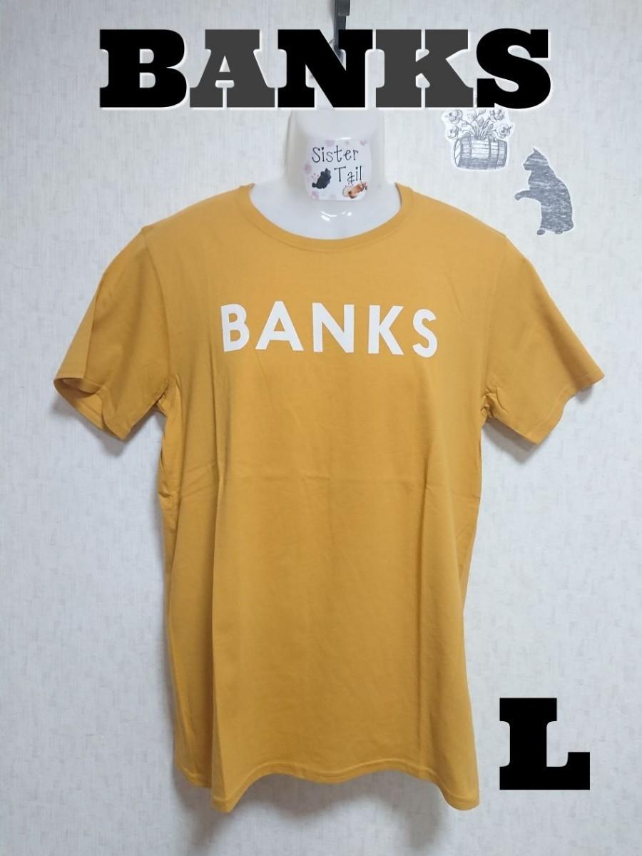 【L】BANKS CLASSIC TEE 半袖Tシャツ