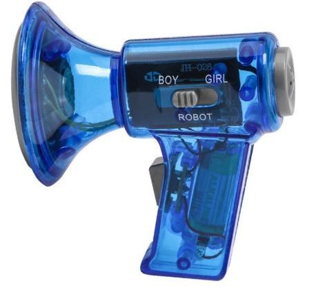 s296面白いボイスチェンジャー 子供のおもちゃ プレゼント ブルー_画像1