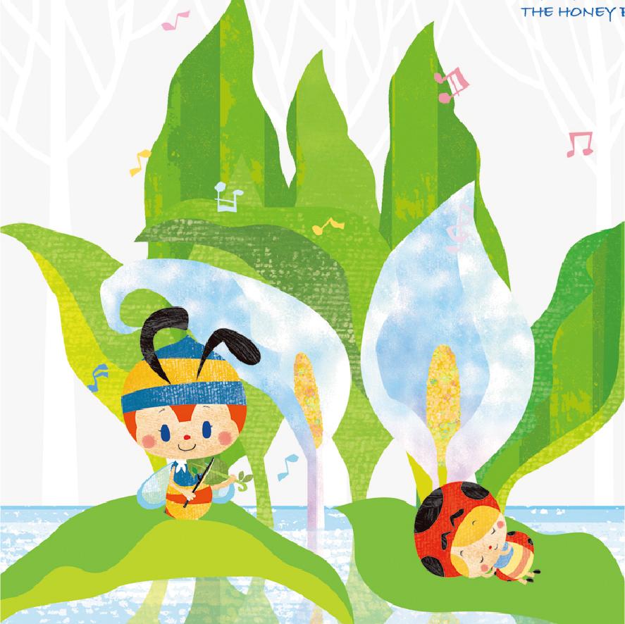 絵画 ジークレー版画 アート 額縁付 タツノコプロ 昆虫物語 みなしごハッチ はりたつお画 「春を待つ」 400x400mm_画像2