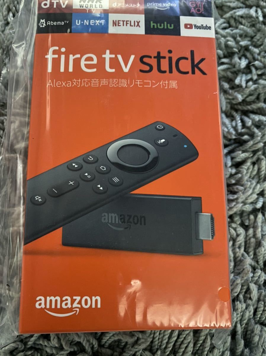 fire tv stick Alexa対応 音声認識リモコン付属 新品未開封