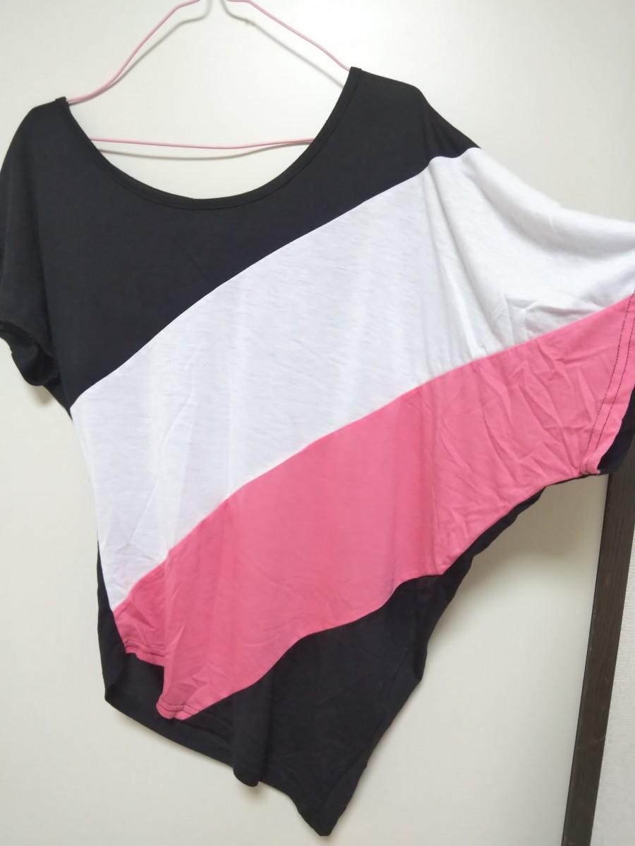 半袖  カットソー  Tシャツ S M