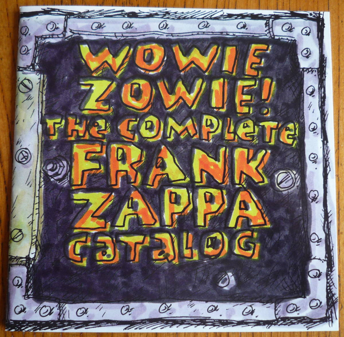 ■ 【CD/美品】 FRANK ZAPPA - HAVE I OFFENDED SOMEONE? フランク・ザッパ