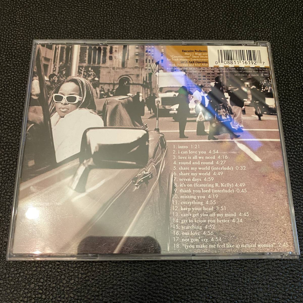 洋楽CD ★ メアリー・J.ブライジ / シェア・マイ・ワールド ★ Mary J. Blige / Share My World