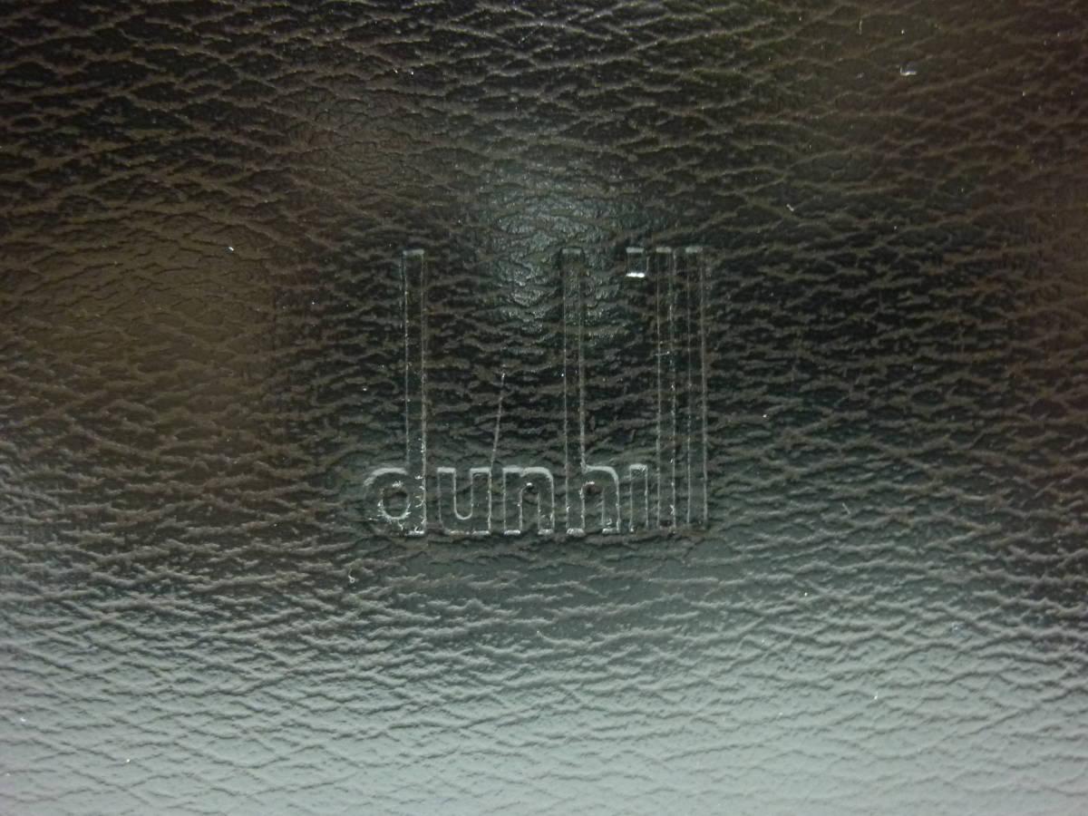 ダンヒル dunhill ブリーフケース ビジネスバッグ LT8010A Q.C.チェック 美品!!_画像10