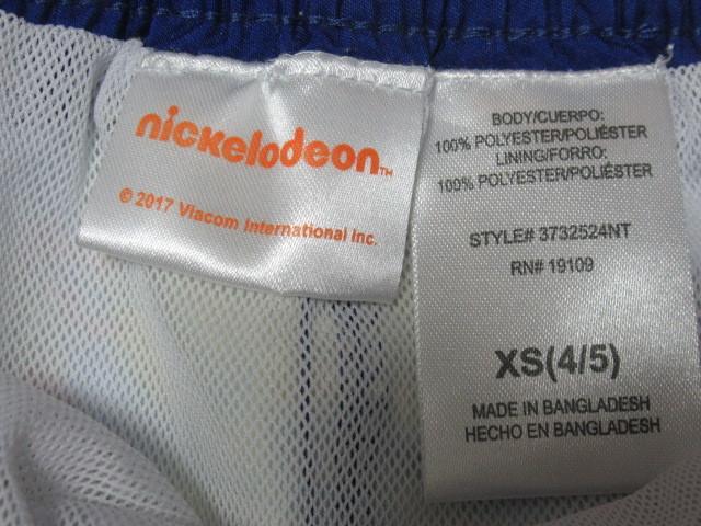新品 即決 激レア ◆ タートルズ 水着 XS 4/5 (約120サイズ) UPF50+ メッシュインナー付 USA購入_画像3