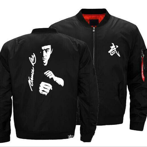 海外 限定品 送料込み 新品 ブルース・リー Bruce Lee 李小龍 ジャケット  サイズ各種 3_画像1