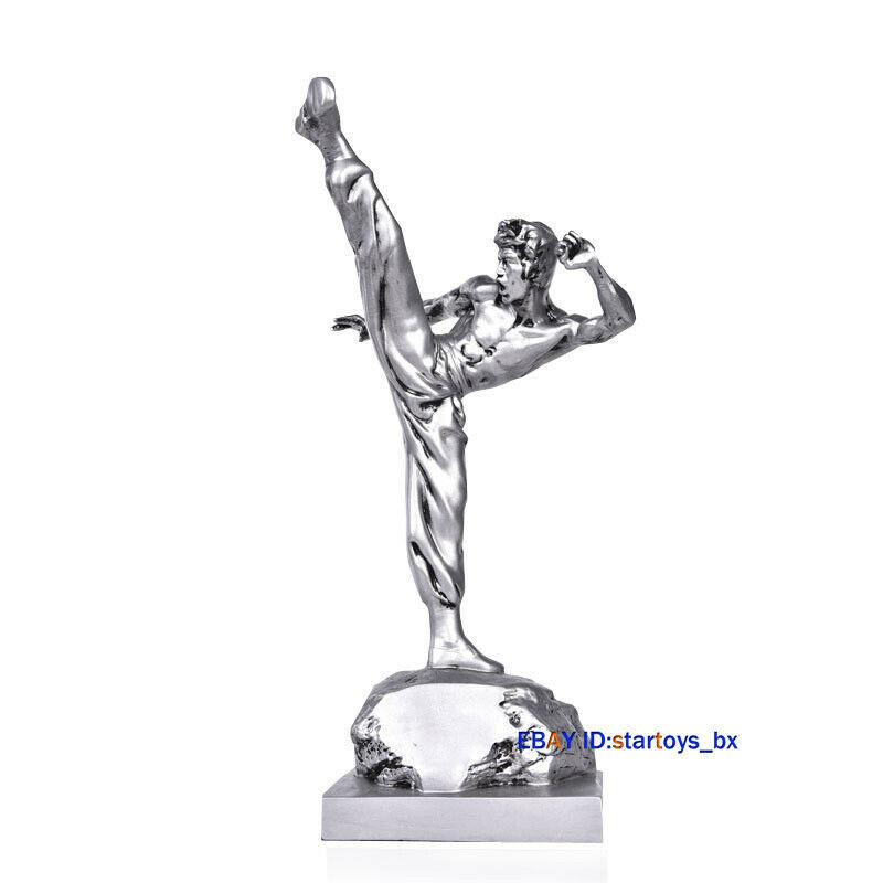 海外 限定品 送料込み ブルース・リー Bruce Lee フィギュア 置物 スタチュー レジン製 50cm 2_画像2