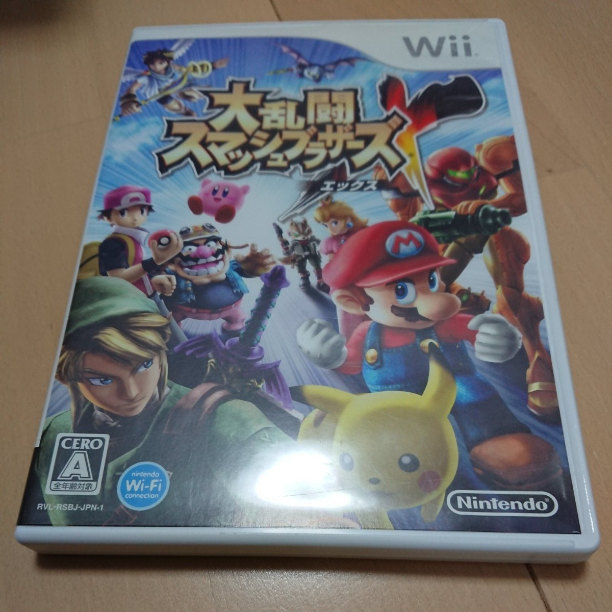 Nintendo Wiiソフト「大乱闘スマッシュブラザーズX」