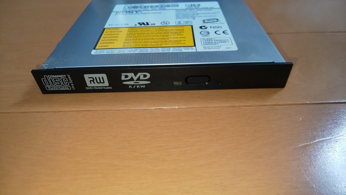 DVDドライブ【SONY DW-D56A-DS】