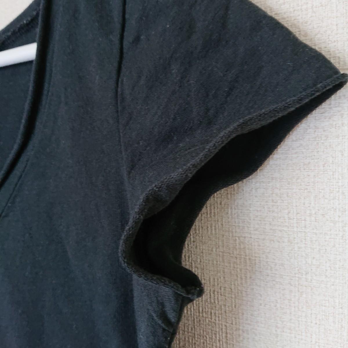 半袖Tシャツ Vネック カットソー トップス ジョルダーノ