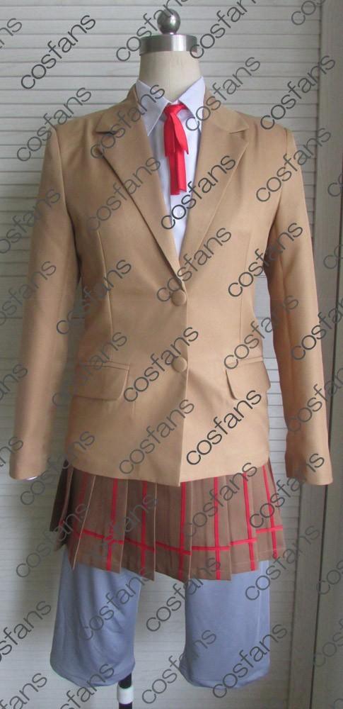 cos1682監獄学園 プリズンスクール 緑川 花 女子制服 コスプレ衣装_画像1