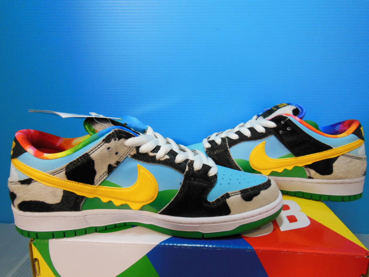 NIKE SB DUNK LOW PRO QS CU3244-100 BEN & JERRY'S CHUNKY DUNKY ナイキ ダンク ベン & ジェリーズ US9 27cm 新品 未試着 即決時送料無料_画像5