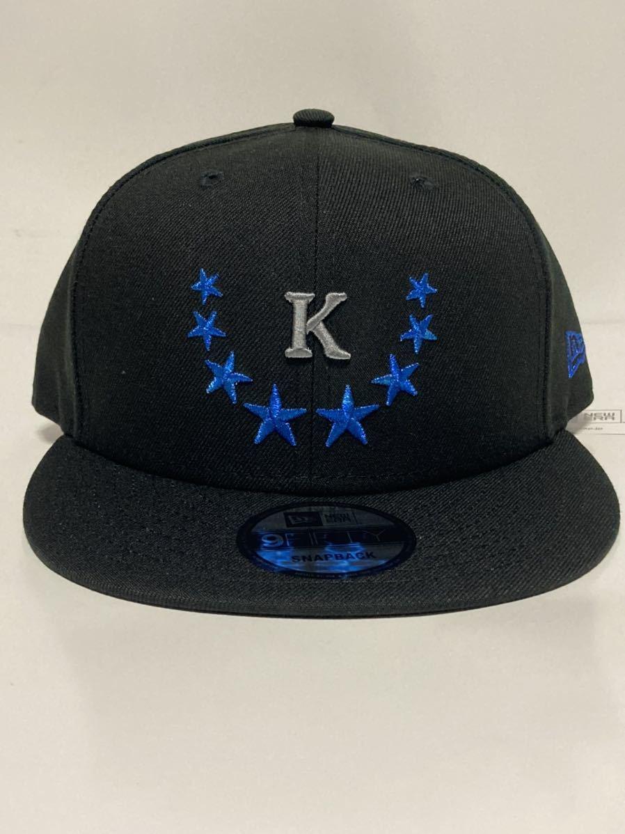 2019年限定 神里和毅 横浜DeNAベイスターズ 神里 NEW ERA (ニューエラ) 9FIFTY キャップ 帽子 フリーサイズFREE大洋ホエールズ950BLACK黒_画像1
