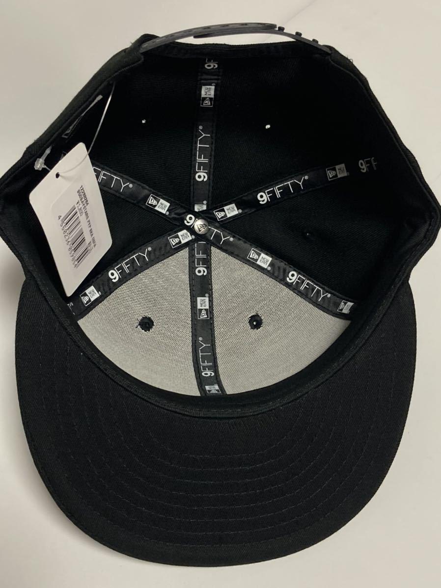 2019年限定 神里和毅 横浜DeNAベイスターズ 神里 NEW ERA (ニューエラ) 9FIFTY キャップ 帽子 フリーサイズFREE大洋ホエールズ950BLACK黒_画像6